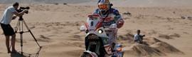 Sachtler frente a la adversidad en el Dakar