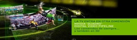"""Nuevas soluciones """"end-to-end"""" para transmisión 3D de Nvidia"""