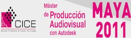 CICE organiza un Máster Profesional con Autodesk Maya 2011