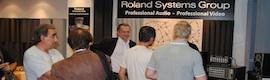 Roland inaugura un show room en Madrid