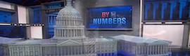 Estudios virtuales e iPads en la noche electoral norteamericana de la NBC