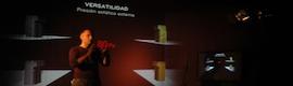 Presentación holográfica 3D para LG España