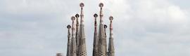 Gran despliegue técnico con motivo de la visita del Papa a España