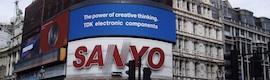 TDK cambia su vieja valla de neón en Picadilly Circus por una pantalla LED de Barco
