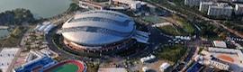 Mediapro puso en marcha el IBC de Al Jazeera para los Asian Games