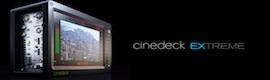 Nueva versión de software para el grabador cinematográfico en disco Cinedeck Extreme