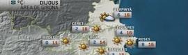 Activa Multimèdia suministra el servicio diario de información meteorológica a Comunicàlia
