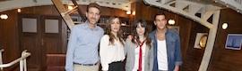 'El barco', la nueva serie de Antena 3, reproduce en un plató la segunda mayor goleta de España