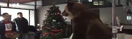 El spot de Ovideo para Gol Tv, con Iniesta y el oso, el fenómeno de las navidades