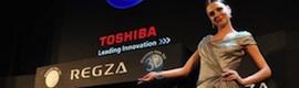 Tv híbrida y 3D sin gafas, propuestas de Toshiba en CES 2011