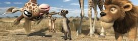 DVS en 'Animals United', la primera película alemana de animación en 3D