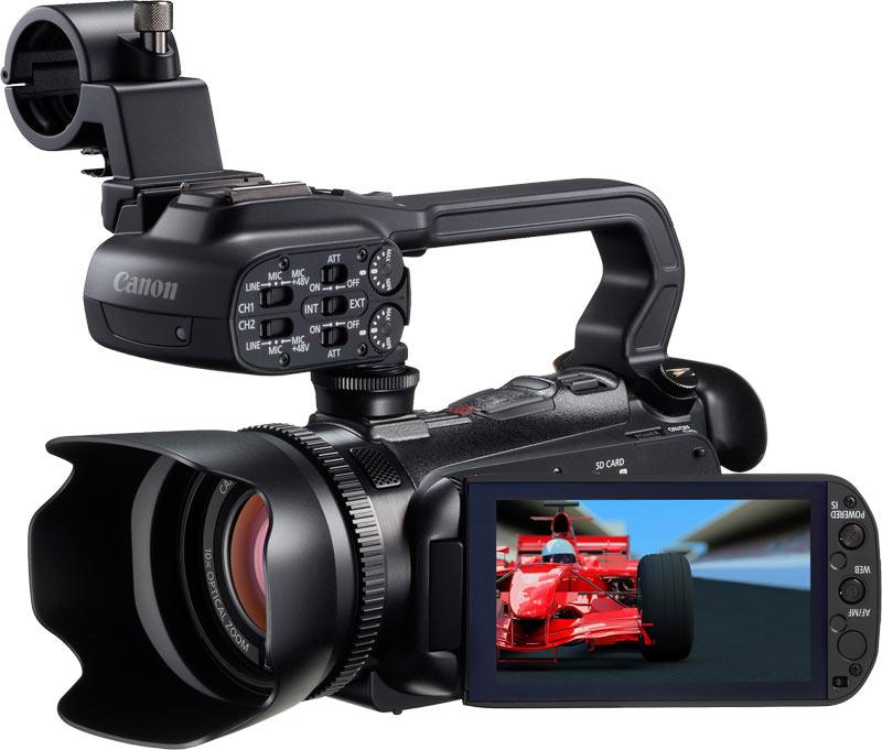 Canon XA10, la nueva cámara compacta, profesional y asequible de Canon