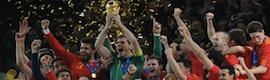 La Selección española golea también en las audiencias de 2010