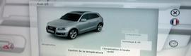 Audi selecciona la tecnología MultiTouch para realzar audiovisualmente su presencia en ferias