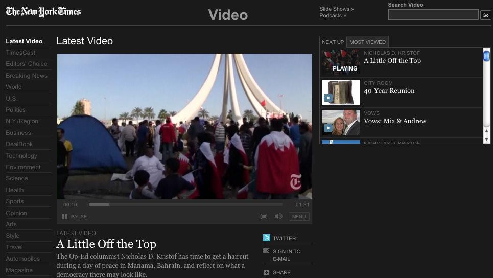 Los periódicos se refugian en el video online, según un informe de ...