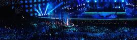 Riedel Acrobat y Artist en el Festival de Viña del Mar