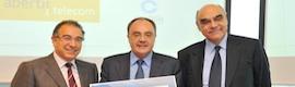 Abertis Telecom recibe el sello europeo 500+ a la excelencia en gestión