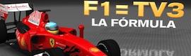 La Fórmula 1 vuelve a TV3 en alta definición