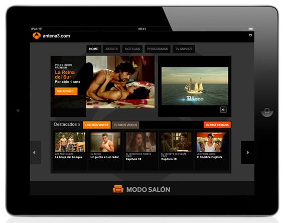 Ver antena 3 online en directo gratis ipad elcineinglob for Antena 3 online gratis