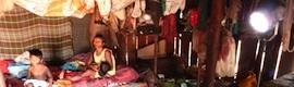 TF1 ilumina al pueblo indínega Kaiapo en Brasil con los IaniLed54 sin cables