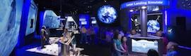 Watchout en el Centro de Visitantes del Complejo Espacial Kennedy