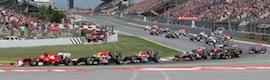 Unitecnic participó en la producción Full HD del Gran Premio de España de F1