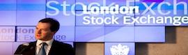 Christie MicroTiles en la Bolsa de Londres