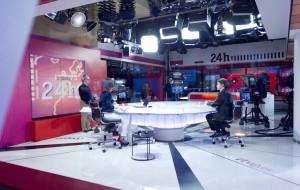 Estudio 24 Horas en TVE Torrespaña (Foto: A. Nevado)