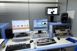 Tecnología Avid en RTVE (Foto: A. Nevado)