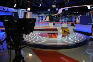 Plató de Teledeporte en TVE Sant Cugat