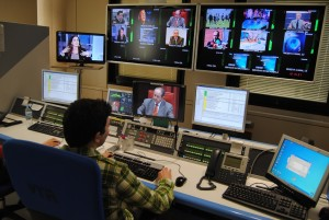 Control de Teledeporte en TVE Sant Cugat