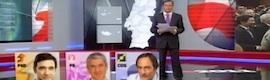Despliegue gráfico en las legislativas portuguesas