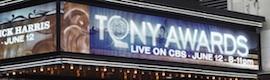 Riedel Artist y RockNet brillan en los Tony Awards
