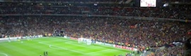 EVS en la final de la Champions en Wembley