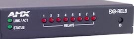 Cinco nuevas cajas de dispositivos de control de AMX
