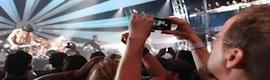 LG hace posible el primer concierto grabado colectivamente y emitido en vivo en 3D