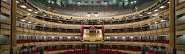 El Teatro Real de Madrid difunde ópera a salas de cine en HD con equipamiento de Sapec