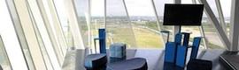 Monitores Arthur Holm en el nuevo Hotel Bella Sky de Copenhague