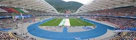 AEQ suministra todos los puestos de comentarista durante los Mundiales de Atletismo en Daegu