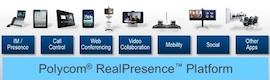 Polycom presenta la plataforma RealPresence para el trabajo en equipo mediante video universal