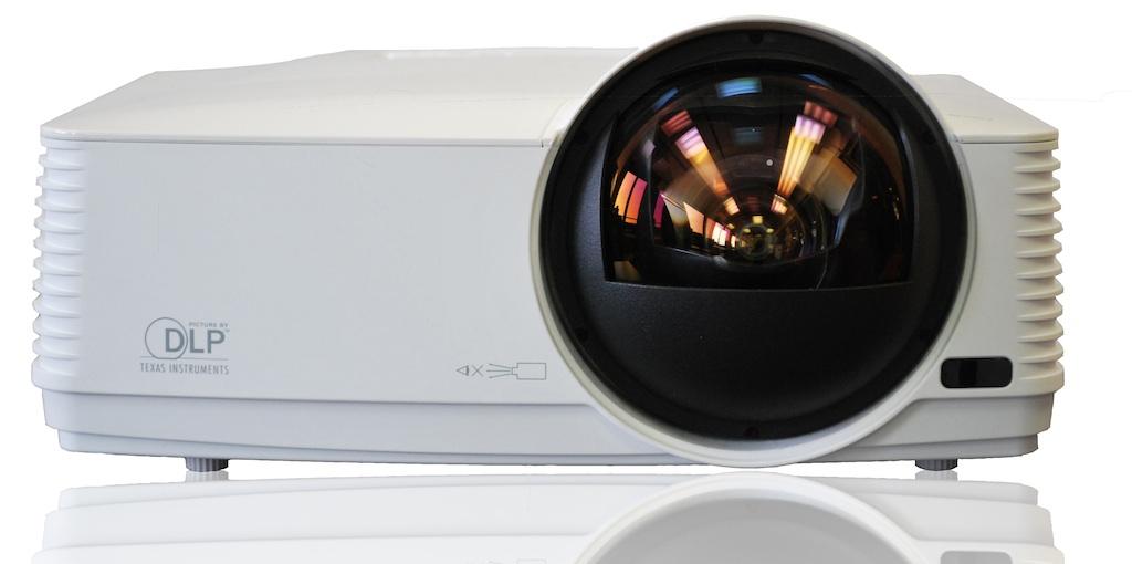 XD360U y WD380 de Mitsubishi Electric: distancia focal ultracorta