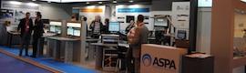 Aspa acude a Broadcast con las últimas propuestas de DHD, RTW y D&R