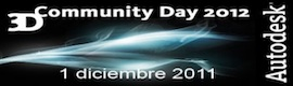 Autodesk y Techex convocan el 3D Community Day 2012