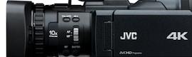 JVC GY-HMQ10: primer camcorder profesional de mano con resolución 4K