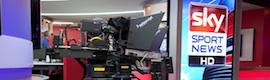 Sky Deutschland equipa su nuevo estudio deportivo con soluciones de Vitec