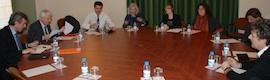 El conseller de Cultura y del ICEC se reúnen con representantes de la Acadèmia del Cinema Català