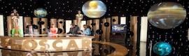 Alter3sesenta despliega un espectacular montaje con esferas en el Especial Oscars de Canal+