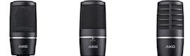 Nuevos micrófonos de AKG para broadcast y estudio