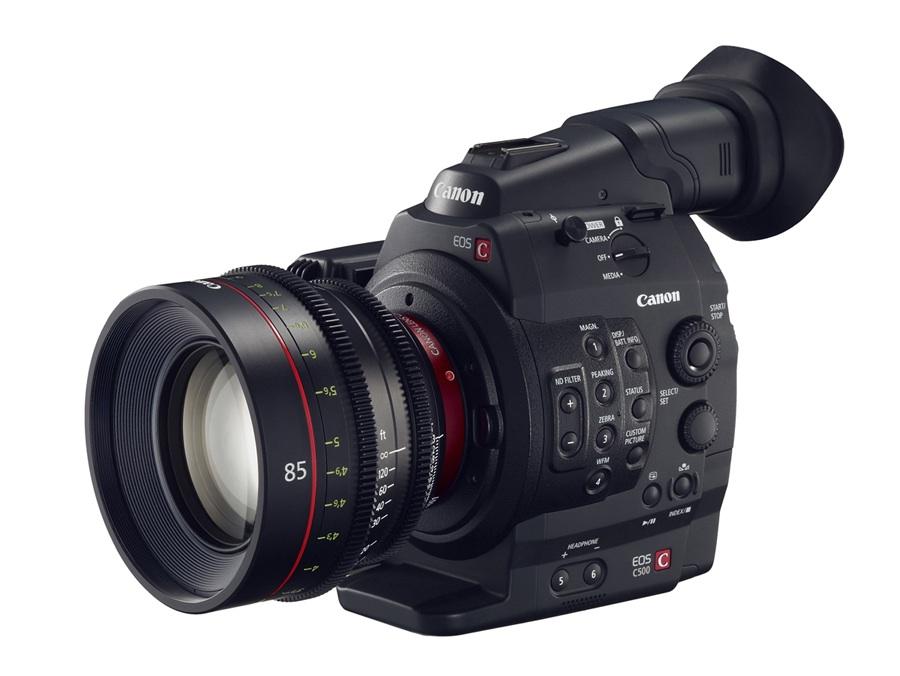 EOS C500: Canon desvela en NAB una cámara de cine digital con ...