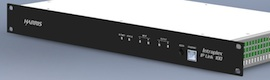 Harris IP Link 100: una solución compacta para el transporte de audio fiable entre dos o más puntos